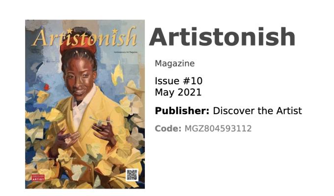 Artistonish Magazine