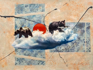 3 new works from 'the cloud'series